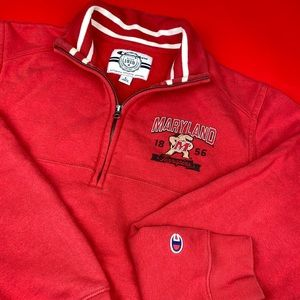 Champion Sweaters - Maryland Terrapins Champion Sweater Mens Large Top